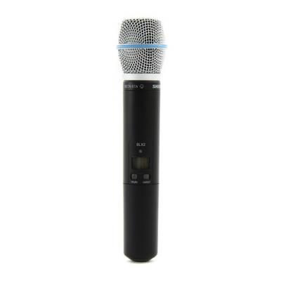 SLX2/BETA87A El Tipi Telsiz Mikrofon