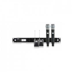 Shure - ULXD124QE/B87 Dörtlü Combo Sistem
