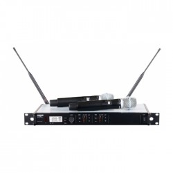 Shure - ULXD24DE/B87C Çift El Mikrofon