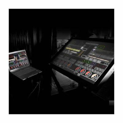 Emulator 42 inç Çift Dokunuşlu + Traktor Audio 2 Ses Kartı