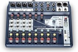 Soundcraft - Notepad 12FX 12 Kanal Effektli Analog USB Mixer