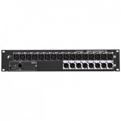 Soundcraft - Digital Live Mini StageBox 16 Kanal Rack Tipi Mikser