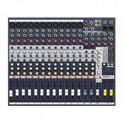 Soundcraft - EFX12 Kanal Efektli Deck Mikser