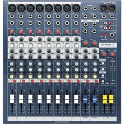 Soundcraft - Live EPM8 - 8 Kanal Deck Mikser