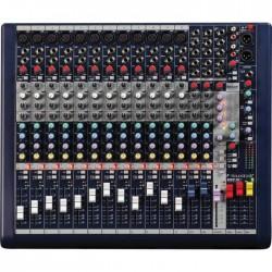 Soundcraft - Live MFXi 12 Kanal Efektli Deck Mikser