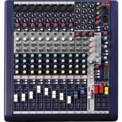 Soundcraft - Live MFXi 8 Kanal Efektli Deck Mikser