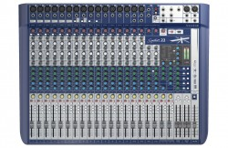 Soundcraft - Signature 22 Kanal Deck Mikser