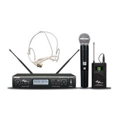 Ssp - WM402/3H El+Kafa Kablosuz Mikrofon Seti
