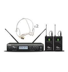 Ssp - WM402/HH Çift Kafa Kablosuz Mikrofon Seti