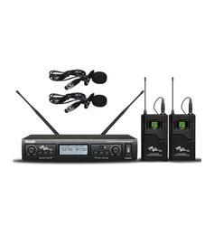 Ssp - WM402/LL Çift Yaka Kablosuz Mikrofon Seti