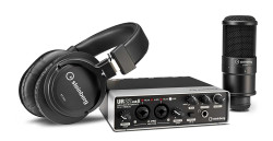 Steinberg - UR22 MKII RECORDING PACK UR22 MKII, mikrofon ve kulaklıktan oluşan başlangıç paketi