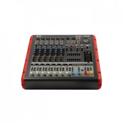 Sti - PM-106 6 Mono + 1 Stereo +2 Grup Power Mikser