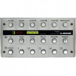 TC Electronic - G-System Gitar multi-effect pedal kontrol ünitesi