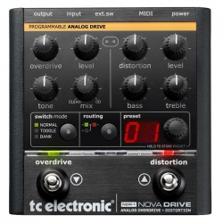 TC Electronic - Nova Drive Analog Drive - Distorsion