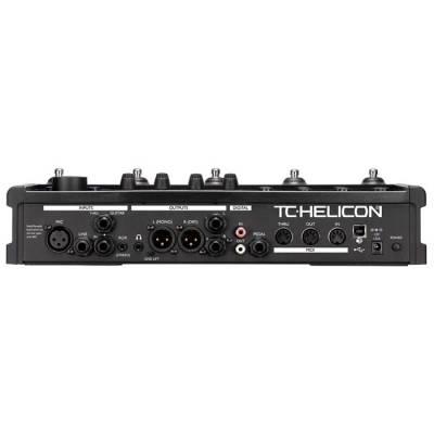 VoiceLive II Voice-Harmony, TC-Effect, Detone Düzeltme, EQ
