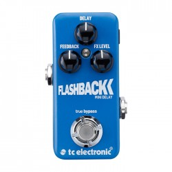 TC Electronic - TonePrint FlashBack Mini Delay TonePrint Özellikli Mini Delay Pedalı
