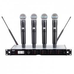 Shure - ULXD24QE/B58 Dörtlü El Mikrofonu