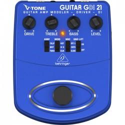 Behringer MI - V-TONE DI GDI21 Profesyonel Elektro Gitar için Pedallı DI Box Preamfi