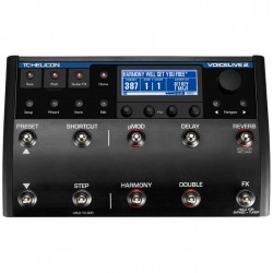 TC Helicon - VoiceLive II Voice-Harmony, TC-Effect, Detone Düzeltme, EQ