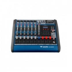 Westa - DP 416 6 Kanal Power Mikser 2x150 Watt Usb ve Efektli