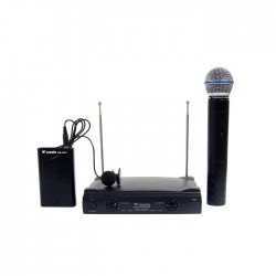 Westa - WM-323 ET 1 El 1 Yaka Telsiz Mikrofon VHF