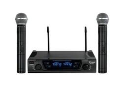 Westa - WM-452E 2li Kablosuz El Mikrofonu Seti