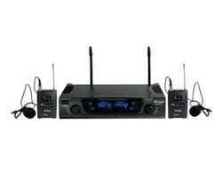 Westa - WM-452T UHF Band Kablosuz Mikrofon Seti - Çift Yaka