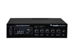Westa - WM-600U Hat Trafolu USB MP3 Girişli Power Mikser