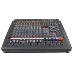 Westa - WMX-1000 6 Mono 4 Stereo Kanal 2x700W 4 ohm Power Mikser