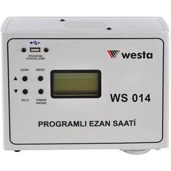 Westa - WS-014 Programlı Ezan Saat Cihazı