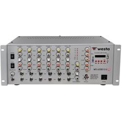 Westa - WS-6300-E-U-TR 6 Kanal 300 Watt 100V Anfi Mikser