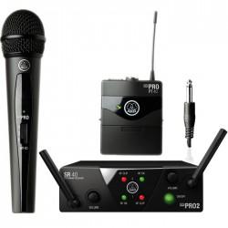 Akg - WMS 40 PRO Mini2 El ve Enstruman Mikrofonu