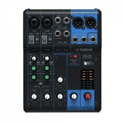 Yamaha - MG06 6 Kanal Deck Mikser