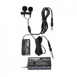 Yoga - EM-06 Çiftli Yaka Mikrofonu